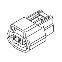 Kent-Moore J-48817-122 Connector, Replacement (Pkg Of 2) (J48817-122)