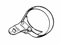 Kent-Moore MEL1192 Oil Filter Wrench