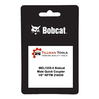 Kent-Moore MEL1355-5 Quick Coupler, Male X 1/8 FNPTF