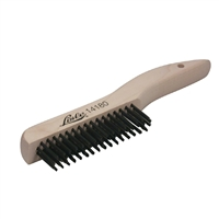 Lisle 14180 Shoe Handle Wire Scratch Brush