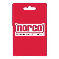 Norco 72002 Security Straps For Transmission Jacks, Pair