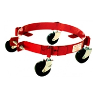 National Spencer Z-Line 105 Band-Type Dolly W/ Phenolic Casters For 25-50 Lb Pail