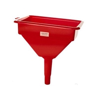 "National Spencer Z-Line 764 Heavy-Duty Polyethylene Funnel W/ Screen For Diesel 10"" X 7"" Top"