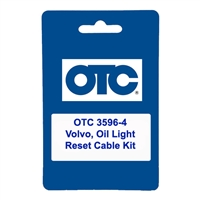 OTC 3596-4 Volvo, Oil Light Reset Cable Kit
