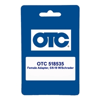 OTC 518535 Female Adapter, 5/8-18 W/Schrader