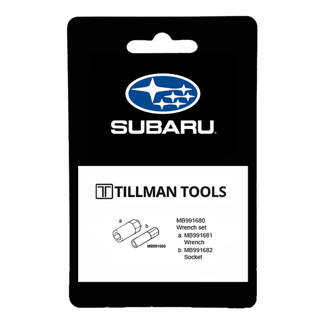 OTC Tools Mitsubishi MB991680 Outlander Wrench Set
