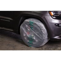 "RBL 176 SUV / Light Truck Plastic Wheel Bag Maskers for 16"" Tires, 60/roll"