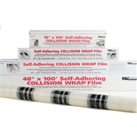 "RBL 434 Collision Wrap Film, 24"" x 50' Continuous Roll"