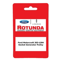 Ford Motorcraft 303-1284 Socket Generator Pulley