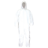 SAS Safety 6893 Gen-Nex All-Purpose Hooded Painter's Coverall, Large
