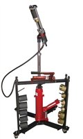 Schley Products 11000 Mobile Hydraulic Press with Manual Pump