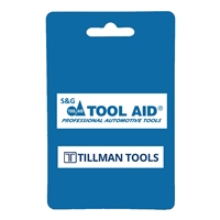 "Tool Aid  16025 15-1/2"" Rlng Hd Pry Bar"