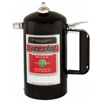 Sure Shot Model A Steel Sprayer, Black, 1 quart