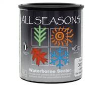 Polyvance 3052-4 All Seasons Waterborne Flexible Bumper Sealer (Black), quart, round