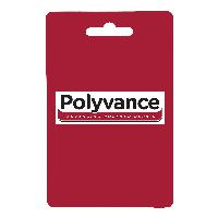 "Polyvance R12-04-01-NT High Density Polyethylene Strip, 3/8"" x 1/16"", 5 ft., Natural"