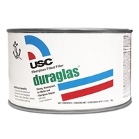 USC 24035 DURAGLAS® Fiberglass Filled Body Filler, quart