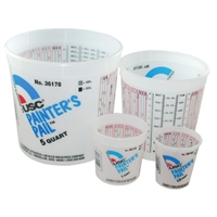 USC 36176 PAINTER'S PAIL® 2-1/2 Quart Mixing Cups, 50/box
