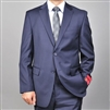 Barry's Menswear Navy Slim Fit Wool Suit