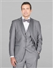 Barry's Menswear Classic Solid Gray Tuxedo