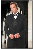 Barry's Menswear Classic Wool Notch Lapel Tuxedo