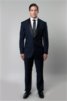 Barry's Menswear Slim Fit Shaw Collar Tuxedo