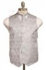 Barry's Menswear Paisley Tone Vest With Tie And Hanky