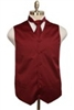 Barry's Menswear Formal Satin Vest With Tie And Hanky