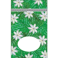Tiare Garden Small Stand Up Zipper Pouch - Bulk 100-count