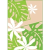 Monstera Nui Tan Note Cards