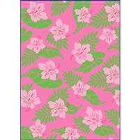 Hibiscus Nui Pink Wiki Wrap, 6-ct.