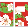 Hibiscus Nui White/Red Glitter Lucky Money Envelopes