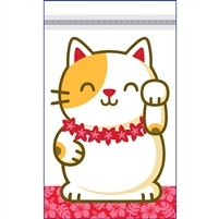 Lucky Cat Twosie - Zip Bags - Bulk 100-count