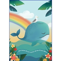 Whale Glitter Note Cards