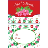 Island Garland Gift Card Holder