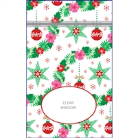 Island Garland Medium Stand Up Zipper Pouch
