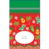 Hawaiian Holiday Large Stand Up Zipper Pouch - Bulk 100-count