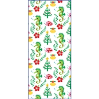 Seahorse and Friends Mele Kalikimaka Treat Bags - Medium, 18-ct.