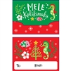 Sea Horse and Friends Mele Kalikimaka Gift Card Holder