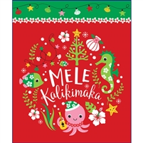 Seahorse and Friends Mele Kalikimaka Medium Tote