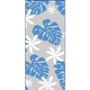 Monstera Nui Blue on Clear Treat Bags - Small