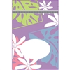 Monstera Nui Lavender Medium Stand Up Zipper Pouch - Bulk 100-count