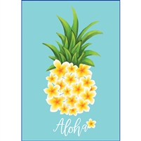 Plumeria Pineapple (Aloha) Note Cards