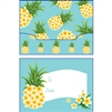 Plumeria Pineapple Gift Card Holder