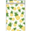 Plumeria Pineapple (Clear Back) Twosie - Zip Bags - Bulk 100-count