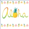 Aloha Pineapple Onesie - Self Sealing Treat Bags - Bulk 100-count