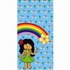 Hula Girl Rainbow Paper Sacks