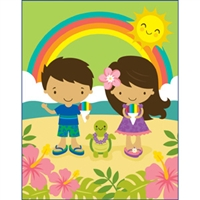 Aloha Cuties Rainbow Shave Ice Tiny Tote