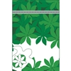 Honu Tiare Green Medium Stand Up Zipper Pouch - Bulk 100-count