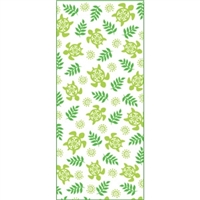 Honu Cuties Green Treat Bags - Medium, 18-ct. Festive treat bags that come with twist ties for quick and easy use.
