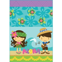 Aloha Cuties 2 Glitter Note Cards